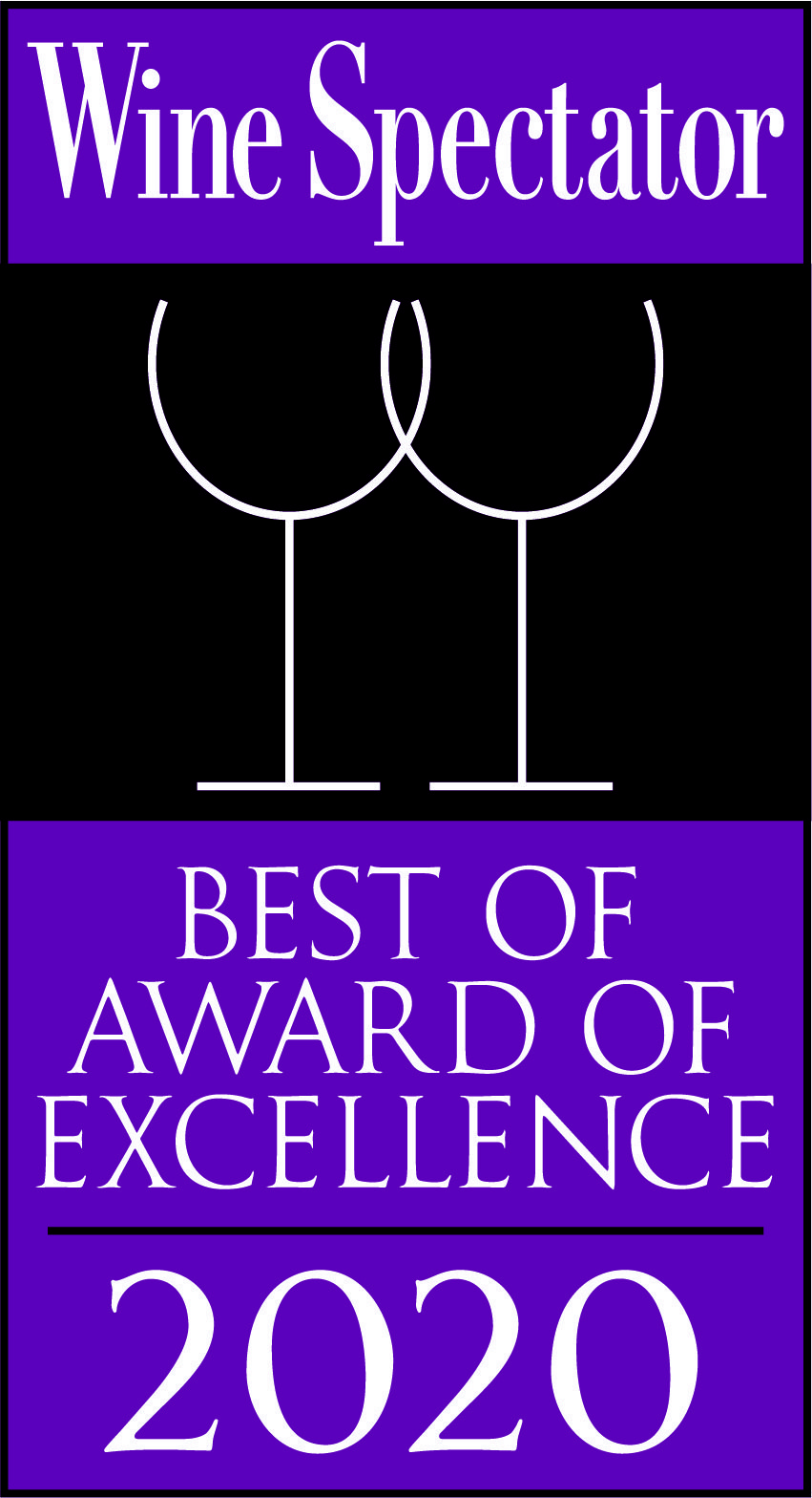 Wine Spectator Best of Award of Excellence 2017